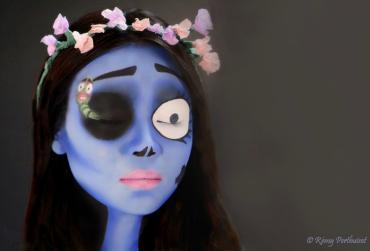 Maquillage Professionnel Artistique Les noces funèbres de Tim Burton