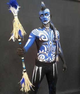 Maquillage profesionnel artistique body painting